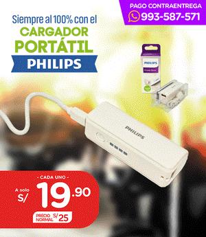 Cargador Portatil Philips