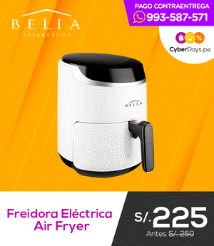 Freidora Eléctrica Air Fryer