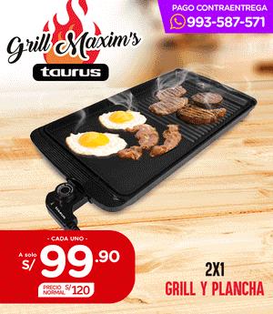 Grill Maxims - Taurus