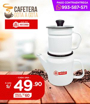 Cafetera Record 2 pzas N° 10