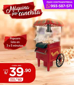 Máquina para Canchita - Belia