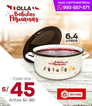 Ollas Bebidas Peruanas N° 26 - Record