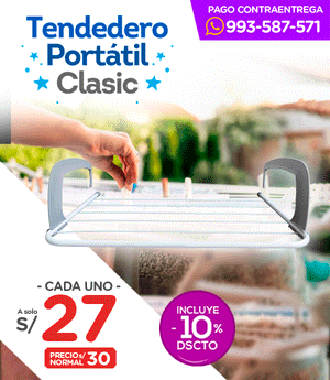 Tendedero Portátil Clasic