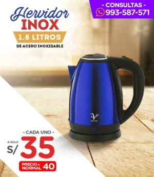 Hervidor Inox 1.80Lt.