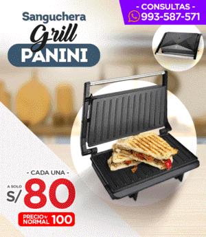 Sanguchera Grill Panini