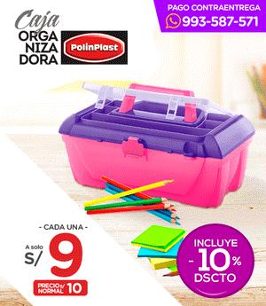 Caja Organizadora - Polinplast