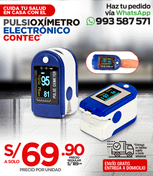 Pulsi Oxímetro - Contec