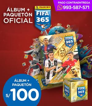 Álbum + Paquetón Oficial FIFA 365 - Panini