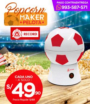 Popcorn maker Mundial