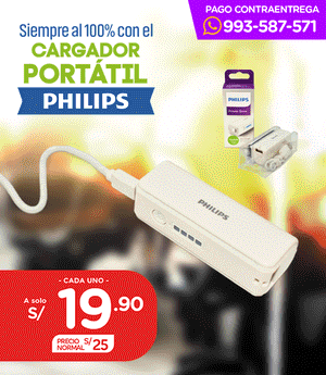 Cargador Portatil Philips