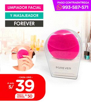 Limpiador Facial y Masajeador Forever