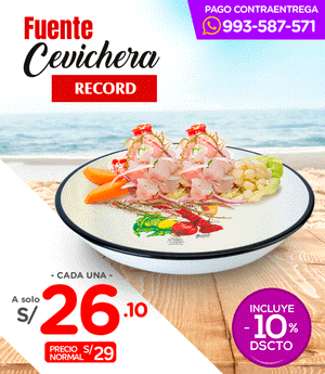 Cevichera Record N° 28