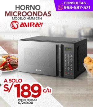 Horno Microondas Miray