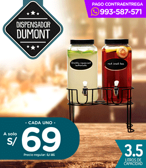 Dispensador Dumont + Stand 3.5 Lt.