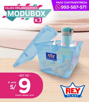 Caja Modubox 4.7 Lt x3 Unid.