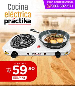 Cocina Eléctrica Fornax Duo - Práctika