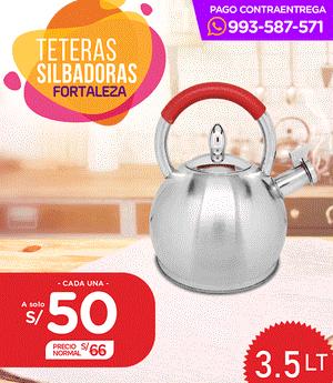 Tetera Fortaleza 3.5 Lt - Modelo D