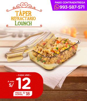 Taper Refractario Lounch