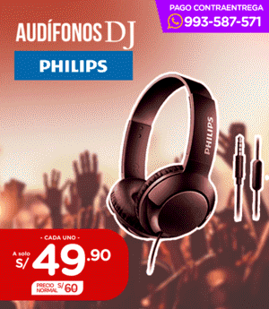 Audifono DJ Philips