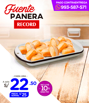 Fuente Panera N°13 Record