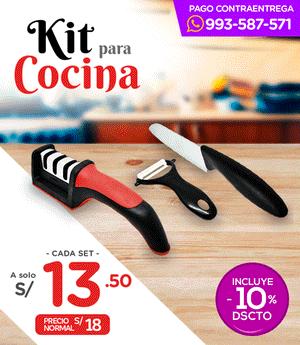 Kit Práctico de Cocina Set x3