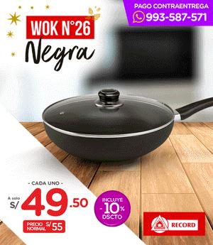 Wok Negra Record N° 26
