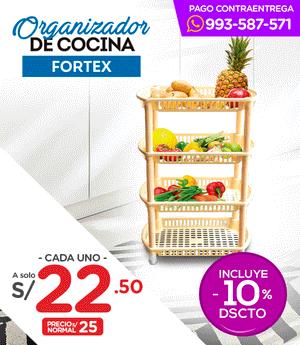 Organizador de Cocina Fortex