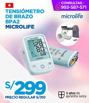 Tensiómetro de Brazo BPA2 - Microlife