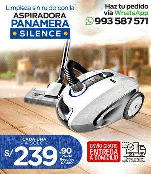 Aspiradora Panamera Silence - Taurus