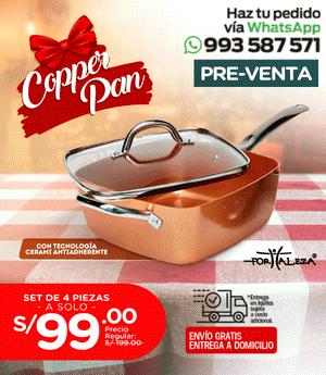 Copper Pan Fortaleza - PRE VENTA