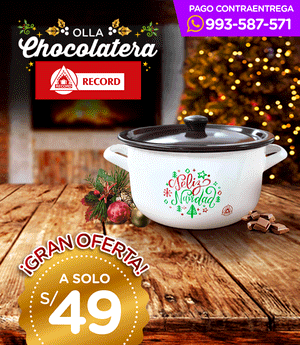 Olla chocolatera record N° 22