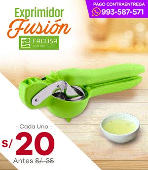 Exprimidor de Limón c/Engranaje Fusión - Facusa