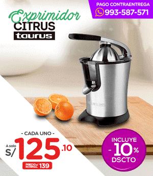 Exprimidor Citrus - Taurus