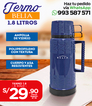 Termo Belia 1.8 Lts