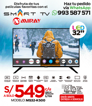 TV Miray LED HD Smart 32""