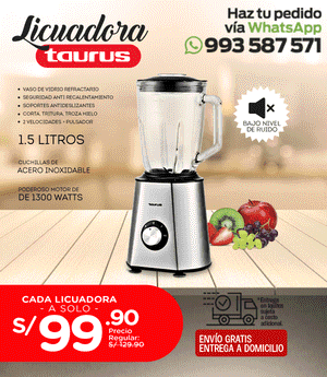 Licuadora Taurus TJB 1300 - PRE VENTA*
