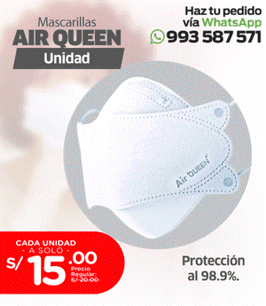 Mascarillas Air Queen