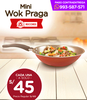 Wok Mini Praga N° 22 - Record