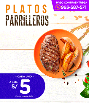 Plato Parrillero Tendido 10.5cm