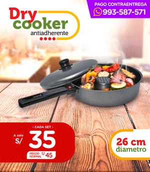 Dry Cooker - Asadera al Vapor