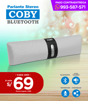 Parlante Bluetooth Estéreo - Coby
